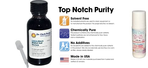 Dr. Clark's Purity Products Black Walnut Hull Tincture 1 Fz