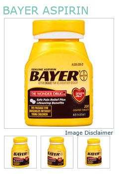 Bayer Aspirin 325mg Tablet 200Ct
