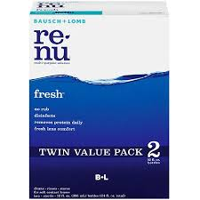 Re-Nu Fresh Multi-Purpose Solution, 2 pack, 12 fl oz. by Bausch & Lomb
