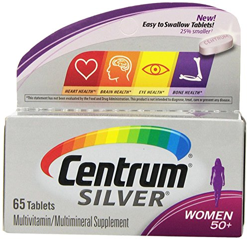 Centrum Silver Women 50+ Tablet 65 Count