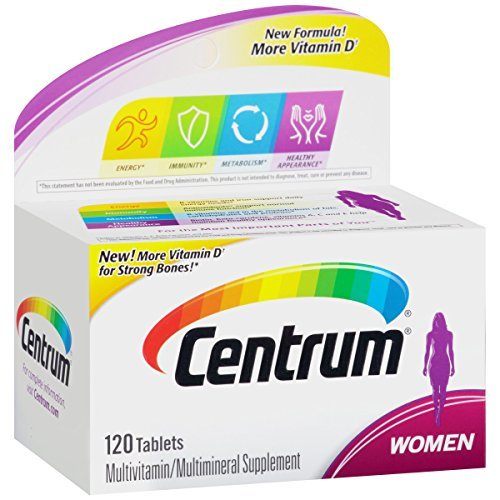 '.CENTRUM WOMEN TABLET 120CT by PFIZER CON.'