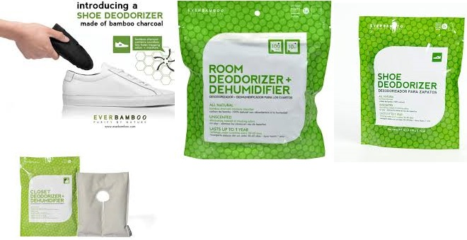 Ever Bamboo Boot Deodorizer 2 Ct