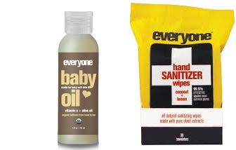 Everyone Baby Oil Organic(95%) 4 Fz