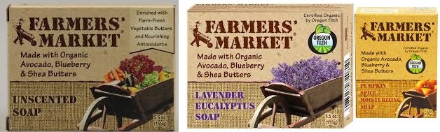 Farmer's Market Bar Soap Apple Orchard 5.5 Oz