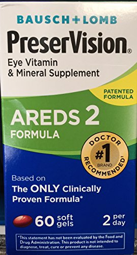 Preservision Areds 2 Formula Eye Vitamin Soft Gels, 60 Count