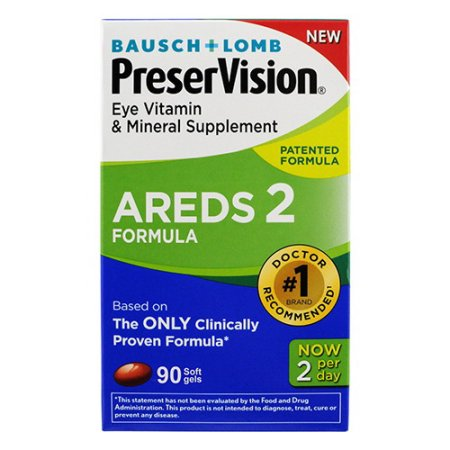 PreserVision Areds 2 Supplement Formula, Softgels - 90 count