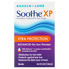 Soothe Eye Drops, Emollient (Lubricant), Xtra Protection - 0.5 fl oz