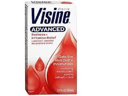 Visine Advanced Redness + Relief Lubricant Eye Drops - 0.5 By J&J Consumer