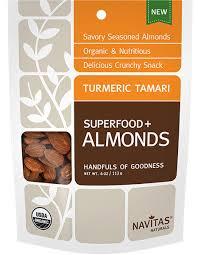 Navitas Naturals Almonds Organic(95%) Goldenbry Gngr 4 Oz