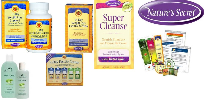 Nature's Secret 15-Day Wgt Loss Cleanse & Flsh 60 Tab