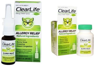Clearlife Nasal Spray Allergy Relief 20 Ml