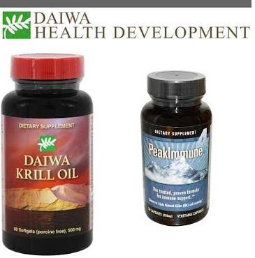 Daiwa Health Development Krill Oil 500Mg 60 Sgel
