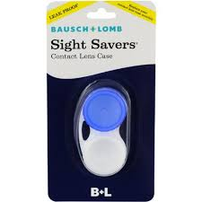 Sight Savers Contact Lens Case by Bausch & Lomb