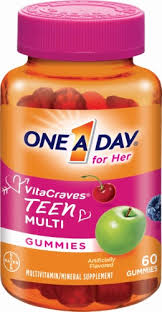 One-A-Day Teen For Her Vitacraves Gummies - 60 Gummies