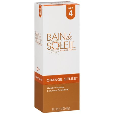 Bain De Soleil® Orange Gel�e SPF 4 Sunscreen 3.12 oz . Box