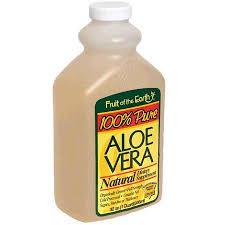 Aloe Vera Juice - 32 Fl oz Bottle By Fruit Of The Earth