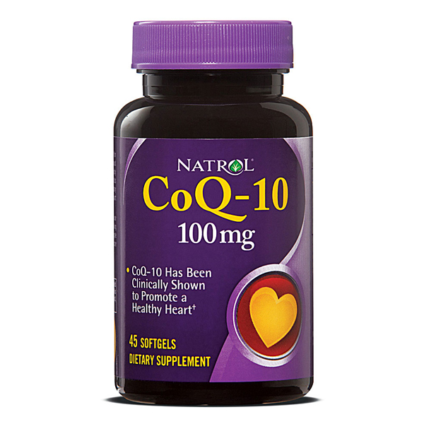COQ10 100mg Capsule 45 Count By Natrol LLC
