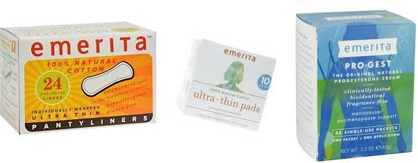 Emerita Feminine Wash Clean & Moist 4 Fz