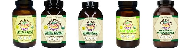 Pure Planet Green Kamut Organic(100%) Dried Juice 240 Cap