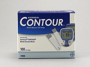 Bayer Contour Test Strip 100 Count