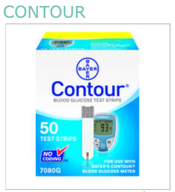 Bayer Contour Dme 50 Strips