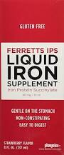 Ferretts Ips Liquid Iron Supplement 8 Fl oz FREE SHIPPING