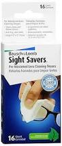 Sight Savers, Multi-Purpose - 16 tissues Bausch & Lomb