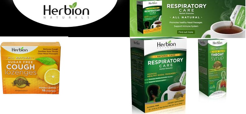 Herbion Naturals Respriratory Care Natural 10 Pkt