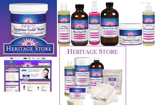 Heritage Store Aura Glow Body Oil Almondd 16 Fz