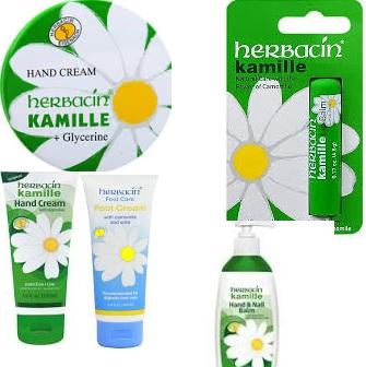Herbacin Kamille Body Lotion Firming W/Argan 5 Fz