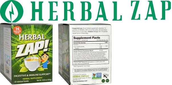 Herbal Zap! Herbal Digestive Ayuredic 10 Pkt