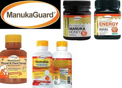 Manukaguard Counter Display Nutralize 2 Flvrs 7 Fz