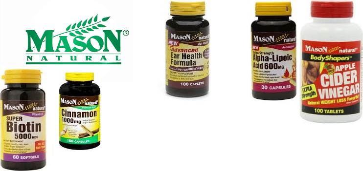 Mason Naturals Fish Oil 1000mg No Burp 180 Gels