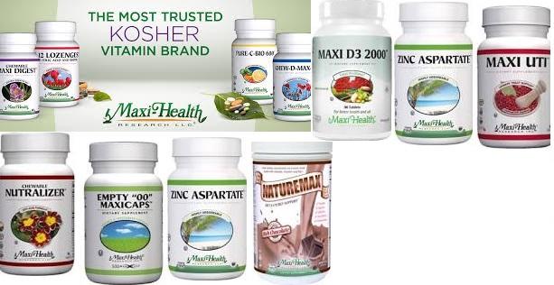 Maxi Health Kosher Vitamins B-12 Lozenges 180 Loz