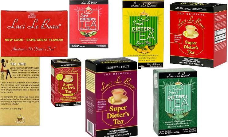 Laci Le Beau Dieters Tea Acaiberry 30 Bag