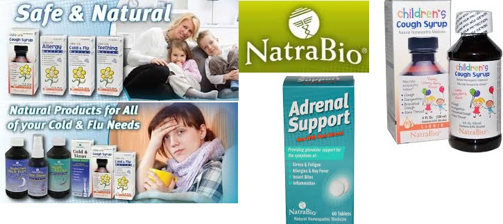 Natra-Bio Adrenal Support 1 oz