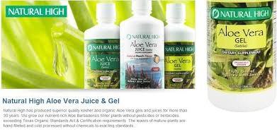 Natural High Jce Aloe Vera 32 Fluid oz
