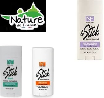Nature De France Deod Stick Gardenia 3 Oz