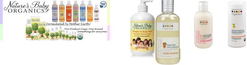 Nature's Baby Organics Baby Oil Organic(95%) Mandrn/Coconut 4 Fz