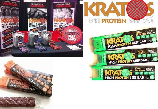 Kratos Beef Bar Ginger/Wasabi 1.2 Oz