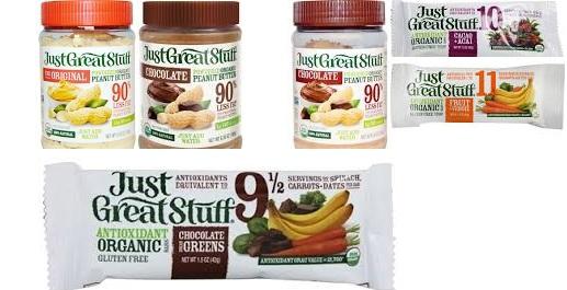 Just Great Stuff Bar Organic(95%) Cacao Acai 1.5 Oz