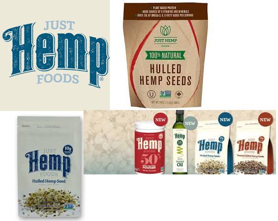 Just Hemp Foods Hemp Seeds Hulled 8 Oz