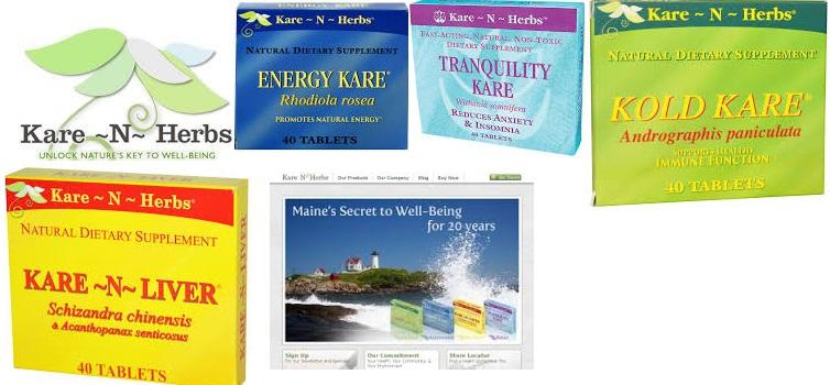 Kare-N-Herbs Energy Kare 40 Tab