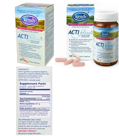 Kendy USA Actiflora+Prebio/Probiotc 100 Cap