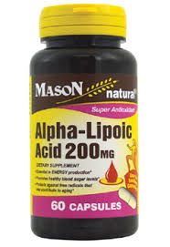 Alpha-Lipoic 200 Mg Cap 60 By Mason Distributors Inc