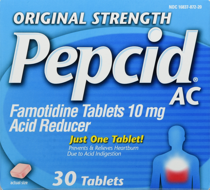 Pepcid Ac Tablet Original 30Ct