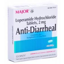 Anti-Diarrheal (Loperamide 2Mg) Caplets - 12 Count Box By Major Pharma