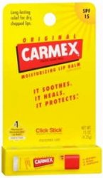 Carmex Carded Daily Care Assorted Flavor Blister Pack of 3 by Carma Labs 72/Case
