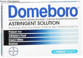 Domeboro Soothing Soak Rash Relief Powder Packets 12 Ea