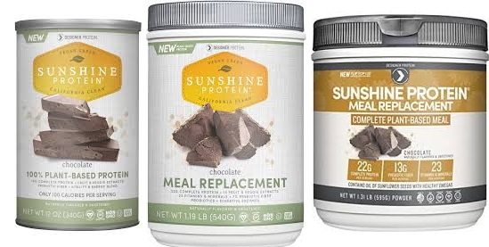 Sunshine Protein Meal Replacement Vanilla 1.19 Lb